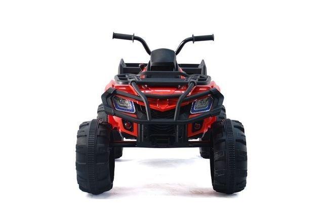 Полноприводный электроквадроцикл Grizzly Next Т009МР (резиновые колеса, кожаное кресло, пульт, музыка)
