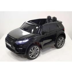 Электромобиль Land Rover Discovery Sport HSE 12V - HL-2388 черный (колеса резина, сиденье кожа, пульт, музыка)