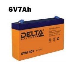 Аккумулятор 6V 7AH DELTA DTM